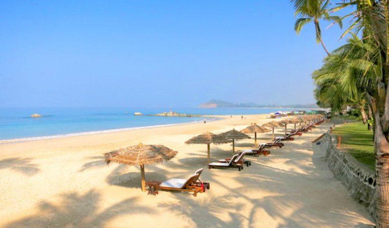 Aureum Palace resort pláže