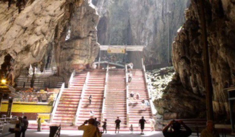 Batu Caves Malajsie