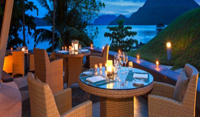 Berjaya Langkawi 5* zahradní restaurace