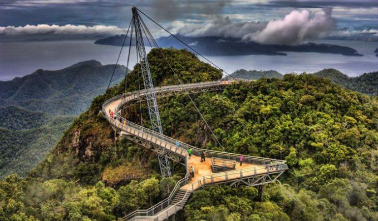 Ostrov Langkawi Sky bridge