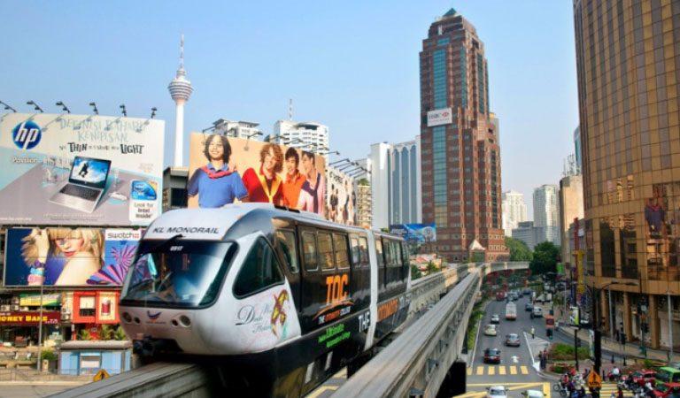 Televizní věž Kuala Lumpurt