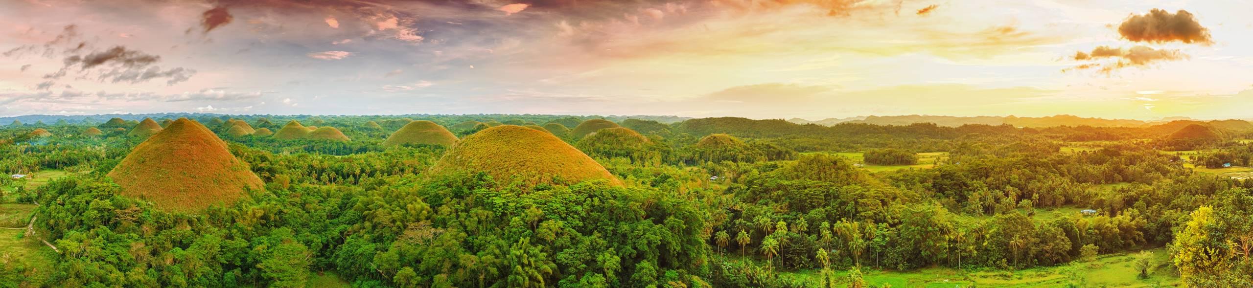 Filipíny čokoládové vrchy