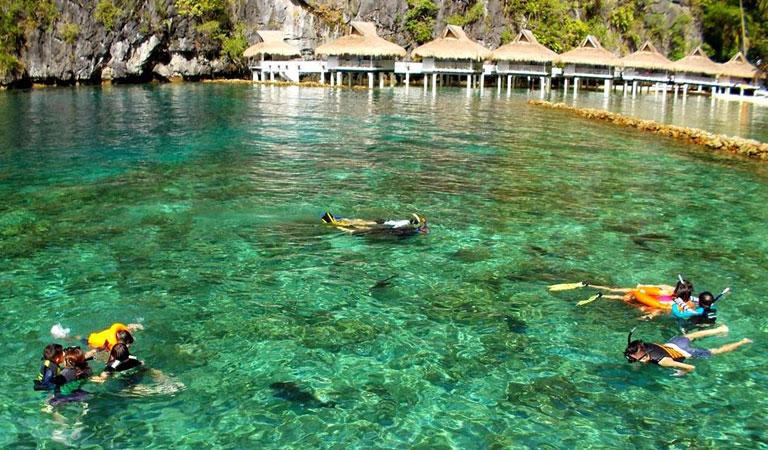 Filipíny Bohol Island – Palawan Island šnorchlování