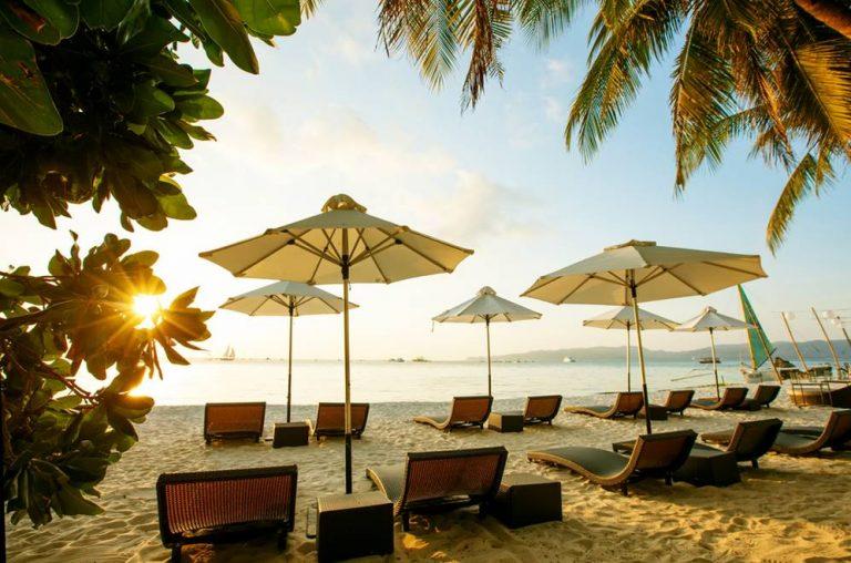 Filipíny Bohol Island pláže