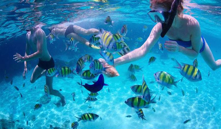Filipíny Boracay Island šnorchlování