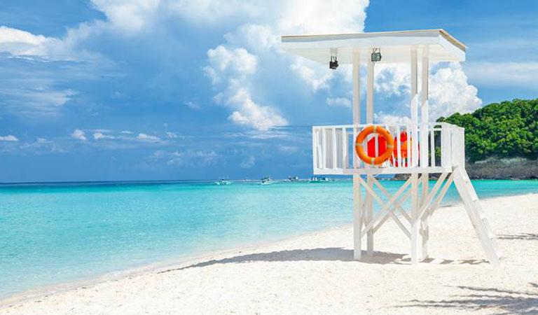Filipíny Boracay Island bezpečné pláže