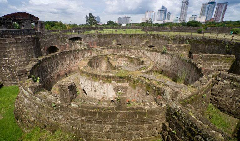 Filipíny Manila Fort Santiago