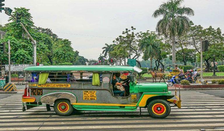 Filipíny Manila park Rizal