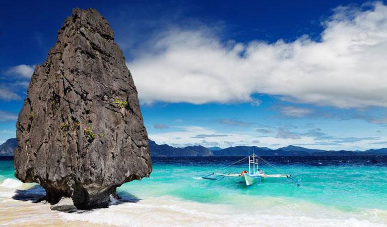Filipíny Palawan Island trimarán