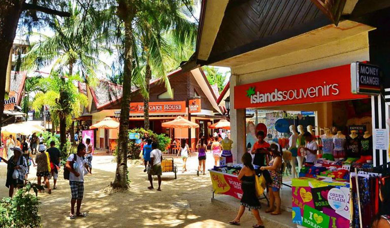 Filipíny ostrov Boracay