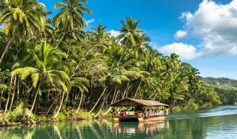 Filipíny plavba lodí