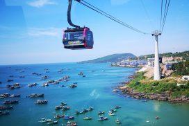 Phu Quoc – nejdelší lanovka na světě – mezi ostrovy